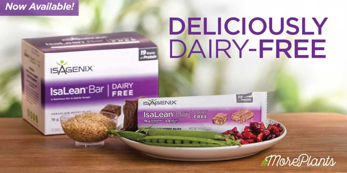 Dairy Free Isalean Bars Here Now