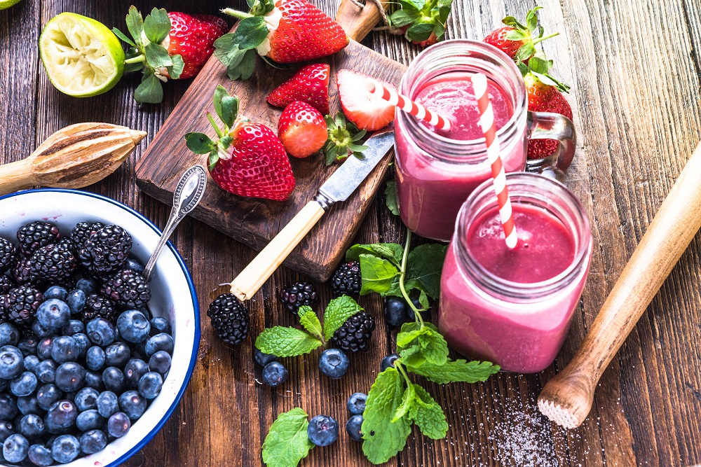 Foods that contain antioxidants (micronutrients)